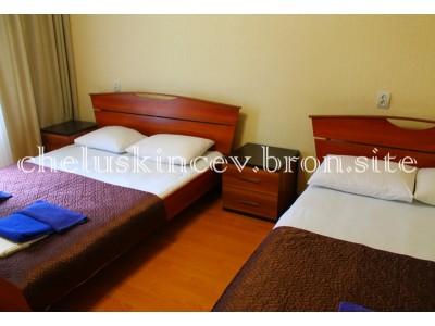 Дом отдыха «Челюскинцев» | стандарт 3-х местный 1-но комнатный  ( старый корпус)