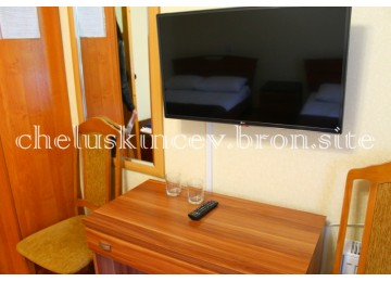 Стандарт 3-местный 1-комнатный (Старый корпус)| Дом отдыха «Челюскинцев» |Абхазия, Гагра, Гагрский район