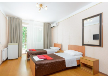 Стандарт 2-местный (Старый корпус)| Номера и цены | Дом отдыха «Челюскинцев» |Абхазия, Гагра, Гагрский район